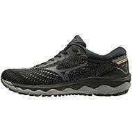 Mizuno WAVE SKY 3 černá/šedá - Běžecké boty
