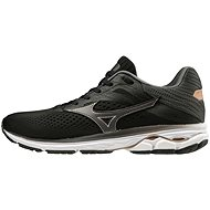 Mizuno WAVE RIDER 23, Black/Grey, EU 37/235mm - Running Shoes