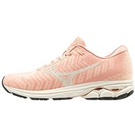 Mizuno WAVE RIDER WAVEKNIT3, Peach/Cream - Running Shoes