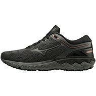 Mizuno WAVE SKYRISE, Black/Grey - Running Shoes