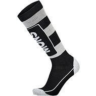 Mons Royale Mons Tech Cushion Sock Black / Grey - Ponožky