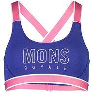Mons Royale Stella X-Back Bra, Ultra Blue - Bra