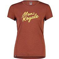 Mons Royale Icon Tee Chocolate - Tričko