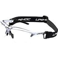 Unihoc X-RAY senior silver/black - Florbalové brýle