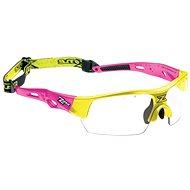 Zone-Eye Matrix kids pink/neon yellow - Florbalové brýle