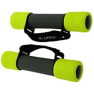 LifeFit Weights Plus 2 x 1kg - Hand weight set