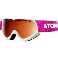 Atomic Savor JR White / Orange vel. NS - Brýle