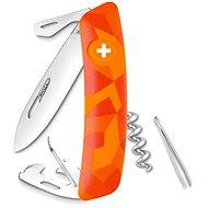 Swiza švýcarský kapesní nůž C03 Luceo orange - Nůž