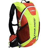 One Way Run Hydro Back 12L Yellow-Red - Sportovní batoh