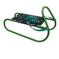 Acra Sáňky kovové zelená - Sáňky