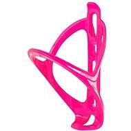 Force Get plastový, růžový lesklý - Košík na lahev