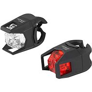 Force Cage front white + rear red - Rear bike light