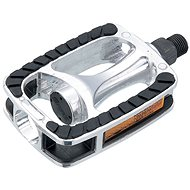 Force Pedals TREK, Alloy, Anti-Slip, Black-Silver - Pedals