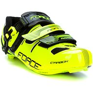 Force tretry Road Carbon, fluo-černé 46 - Tretry