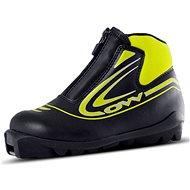 OW Xalta Junior Black/Yellow, velikost 11K - Obuv