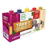 TAKE IT SHAKE IT ZEBRA ovocný nápoj 5 příchutí