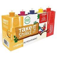 TAKE IT SHAKE IT PAPOUŠEK ovocný nápoj 5 příchutí