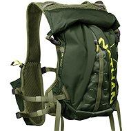Nathan TrailMix 12L zelená/žlutá - Sportovní batoh