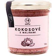 NATU Kokosový krém s malinami 140 g