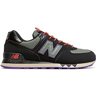 New Balance ML574NFQ černá/fialová - Boty pro volný čas