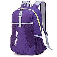 Sportovní batoh Naturehike ultralight sportovní sbalitelný batoh 22l fialový