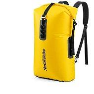 Nepromokavý vak Naturehike vodotěsný ultralight batoh TPU 28l žlutý
