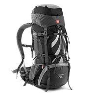Naturehike expediční batoh 70+5l - šedý - Turistický batoh