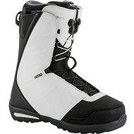 Nitro Vagabond TLS Black - White - Boty na snowboard