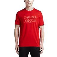 Nike NEYMAR VERBIAGE TEE RED - Tričko