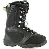Nitro Flora TLS Black-Mint vel. 37 1/3 EU / 240 mm - Boty na snowboard