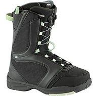 Nitro Flora TLS, Black-Mint - Snowboard boots