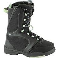 Nitro Flora TLS, Black-Mint, size 38.67 EU/250mm - Snowboard boots