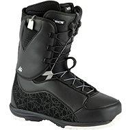 Nitro Futura TLS Black-White vel. 38 2/3 EU / 250 mm - Boty na snowboard