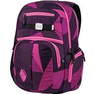 Nitro Hero Fragments Purple - Školní batoh