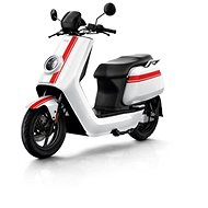 NIU NGT white / red stripes - Electric scooter