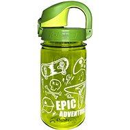 Nalgene OTF 350 ml Green Sprout Epic - Láhev na pití