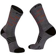 Northwave Extreme Pro High Sock šedá/černá/oranžová vel. 44 - 47 - Ponožky
