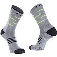 Northwave Extreme Pro High Sock šedá/černá/žlutá vel. 44 - 47 - Ponožky