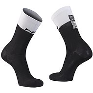 Northwave Work Less Ride More Sock, Black/White, size 36-39