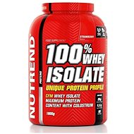 Nutrend 100% Whey Isolate, 1800 g, jahoda - Protein