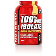 Nutrend 100% Whey Isolate, 1800 g, vanilka - Protein
