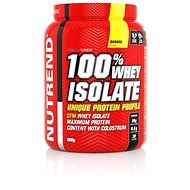 Nutrend 100% Whey Isolate, 900 g, banán - Protein