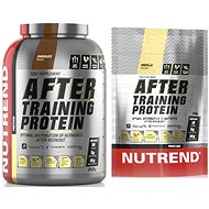 Nutrend After Training Protein, 2520g, chocolate + Nutrend After Training Protein, 540g, vanilla