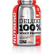 Nutrend DELUXE 100% Whey, 2250 g, jahodový cheesecake - Protein