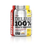 Nutrend DELUXE 100% Whey, 900 g, citronový cheesecake - Protein