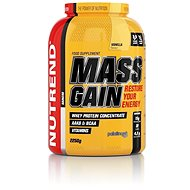 Nutrend Mass Gain, 2250 g, vanilka - Gainer