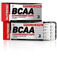 Nutrend BCAA Compressed caps, 120 kapslí, - Aminokyseliny