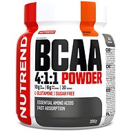 Nutrend BCAA Mega Strong Powder, 300g, Orange - Amino Acids
