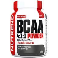 Nutrend BCAA Mega Strong Powder, 500 g, cherry - Aminokyseliny