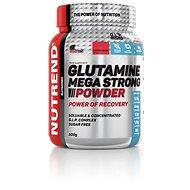 Nutrend Glutamine Mega Strong Powder, 500 g, punč+brusinka - Aminokyseliny
